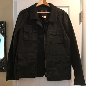 J Crew cotton utility jacket